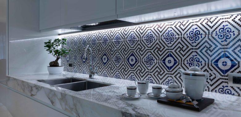mavi ceramica cucina