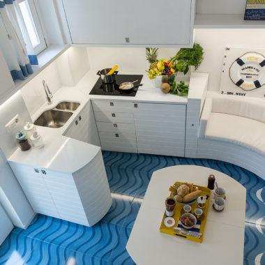 mavi ceramica casa privata