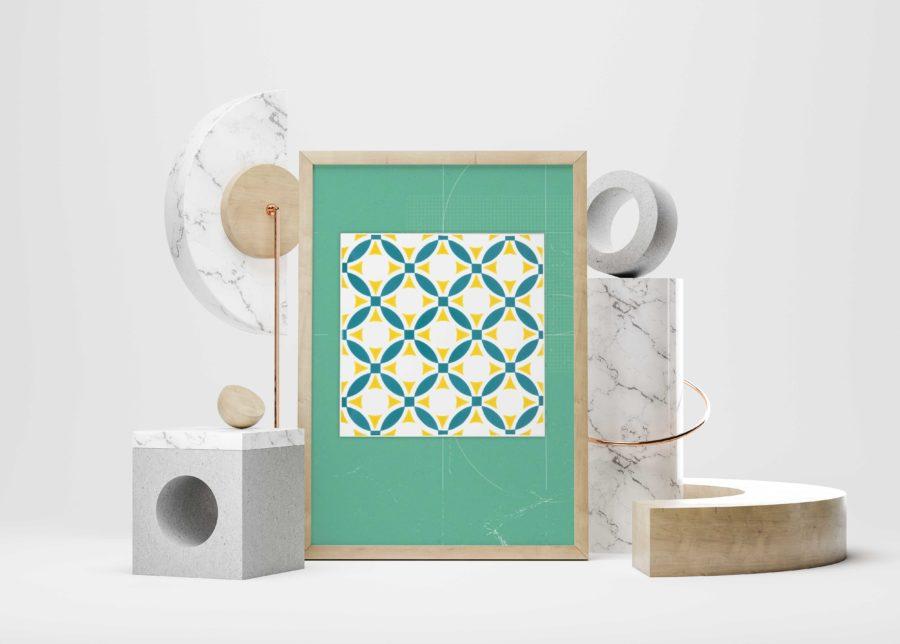 Geometric Trend Tiles 3